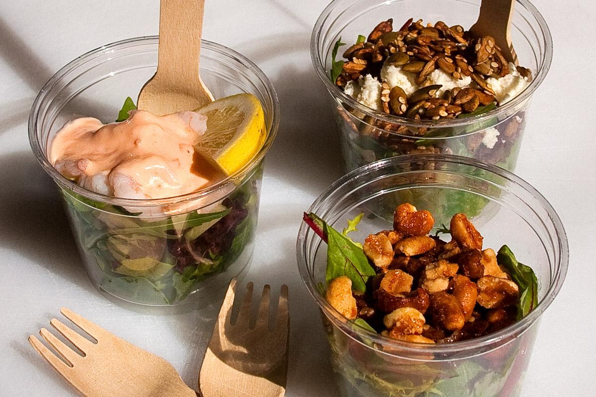 Mini Salad Tubs